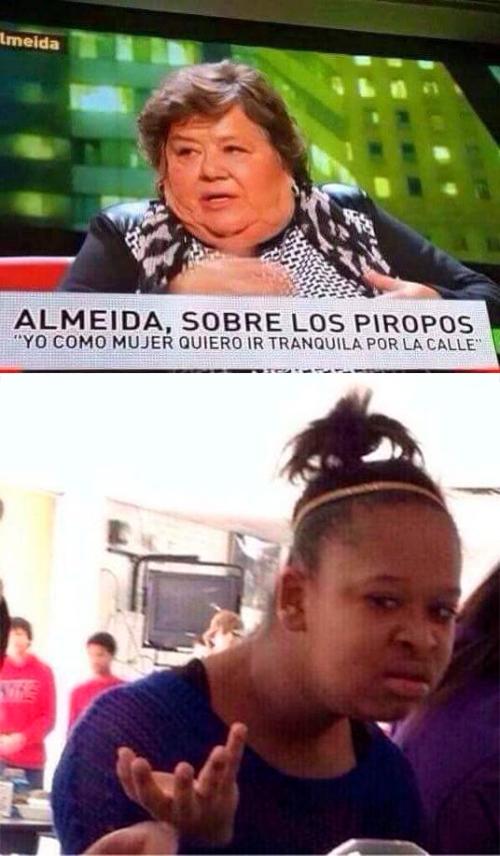 Meme_otros - Dejad a esta mujer en paz, por favor