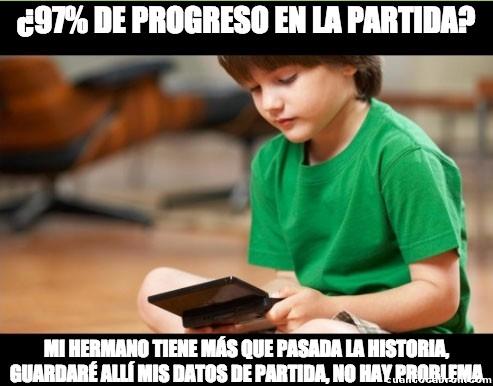 100%,97%,datos,partida,progreso,ranura,videojuego