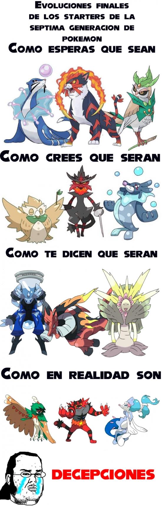 Friki - Starters de la nueva generación de Pokémon...