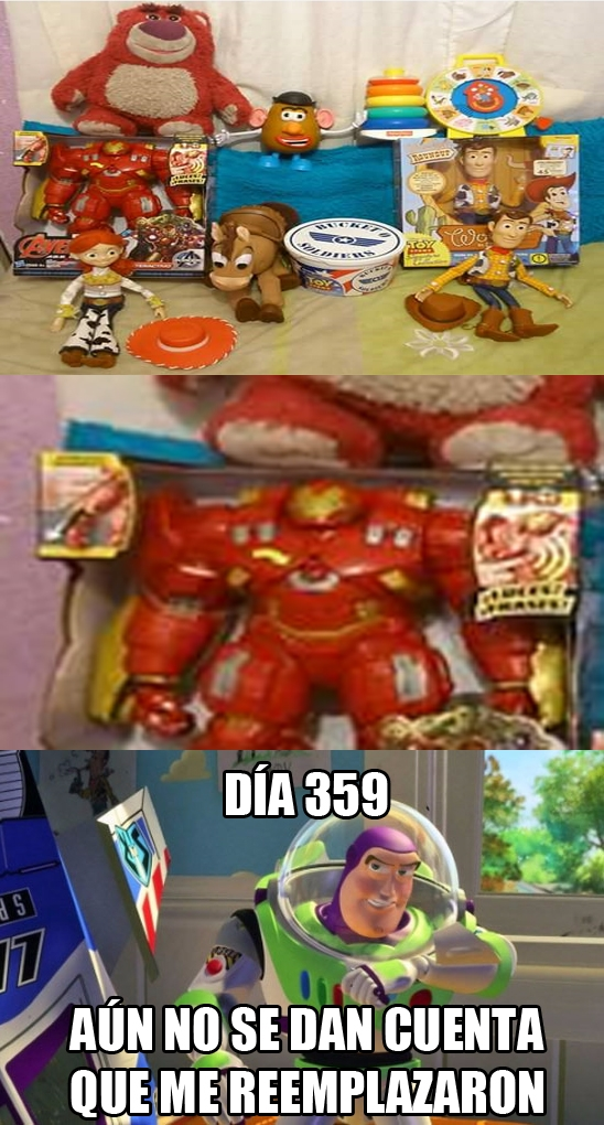 Buzz_lightyear - Iron Man, el maestro del disfraz