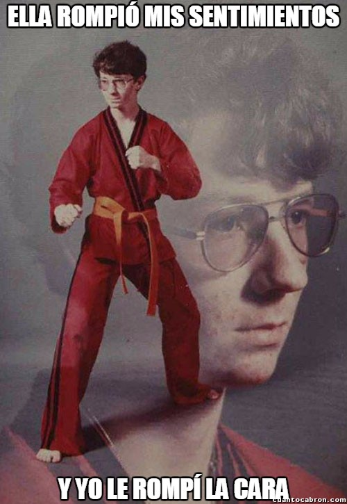 Karate_kyle - El amor le va fatal...