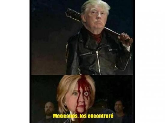 Meme_otros - Hillary era la única esperanza latina