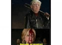 Enlace a Hillary era la única esperanza latina