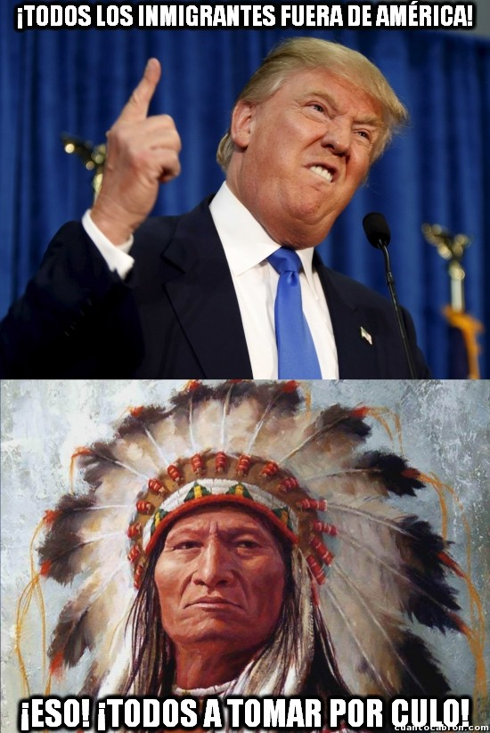 indios,inmigrantes,trump,USA