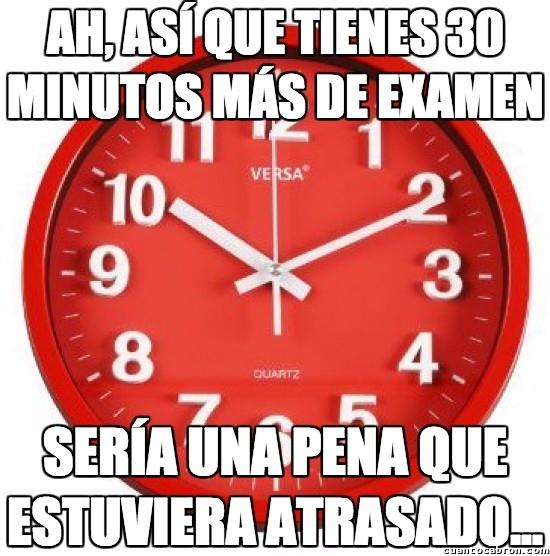 Meme_otros - El tiempo pasa volando...