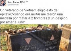 Enlace a Esta lápida de un veterano de Vietnam me puso muy triste