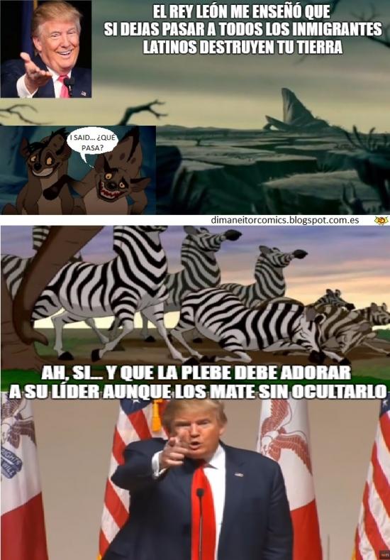 Meme_otros - Arruinando tu infancia con Donald Trump