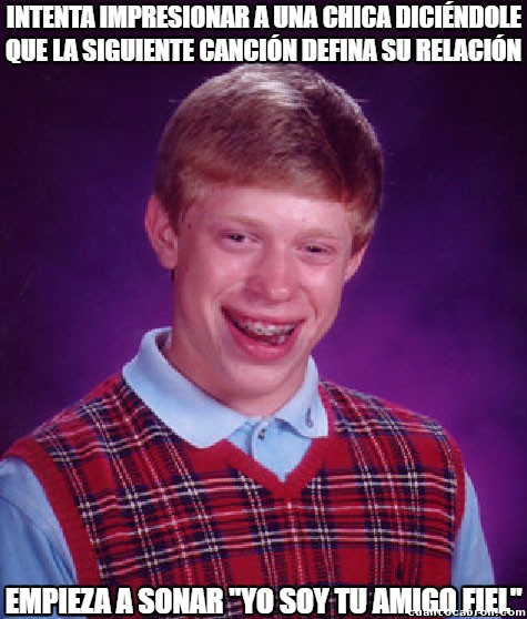 Bad_luck_brian - Destinado a estar solo