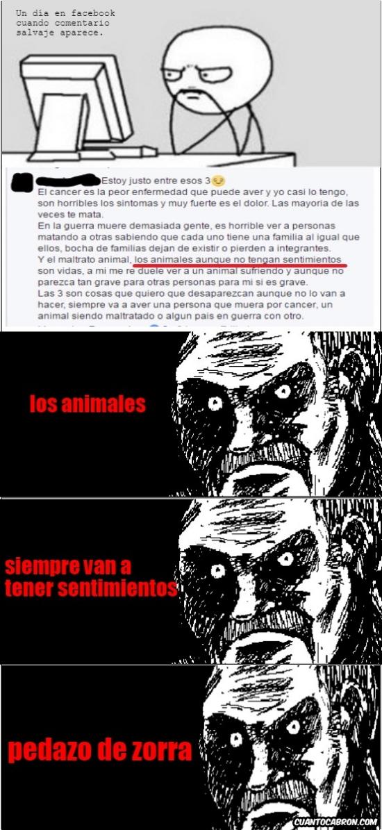 Mirada_fija - Las animaladas que se suelen leer en Facebook...