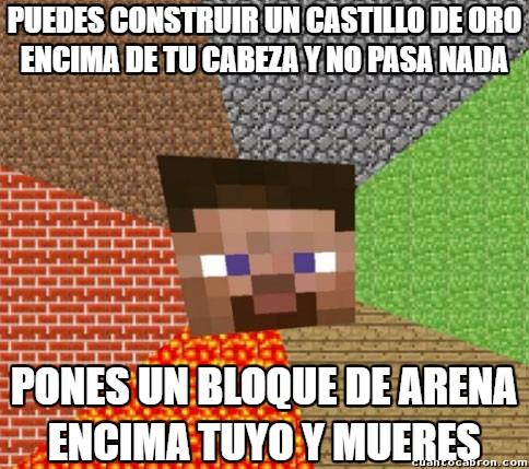 Minecraft - Simplemente, Minecraft...