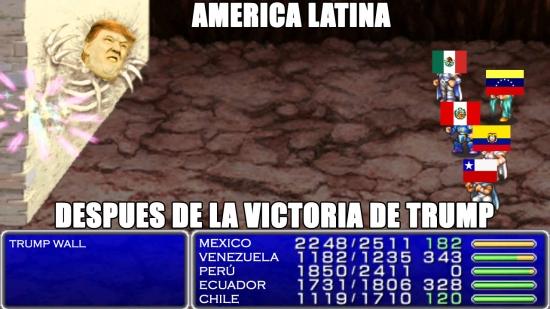 Meme_otros - America Latina contra El Muro de Trump