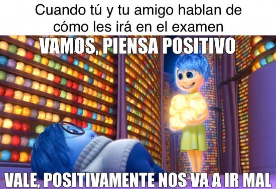 Meme_otros - Hay que ser positivo