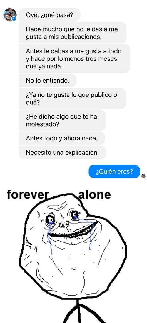 Forever_alone - Lo peor que te puede hacer alguien