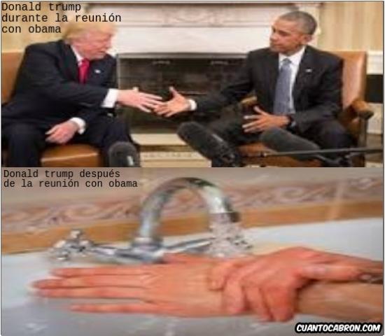Infinito_desprecio - Lo que no se vio de la reunión Trump-Obama