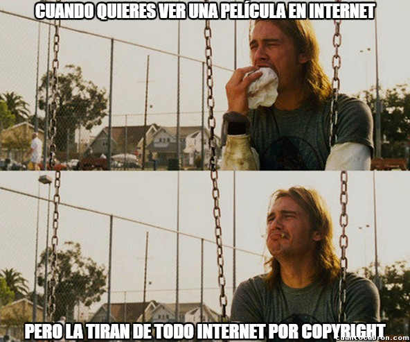 First_world_stoner_problems - Internet ya no es como antes :(