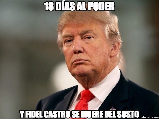 Meme_otros - Trump ya anda haciendo de las suyas
