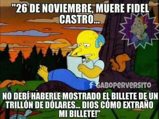 Meme_otros - El Sr. Burns se sigue lamentando