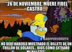 Enlace a El Sr. Burns se sigue lamentando