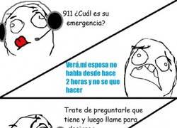 Enlace a Una emergencia muy grave