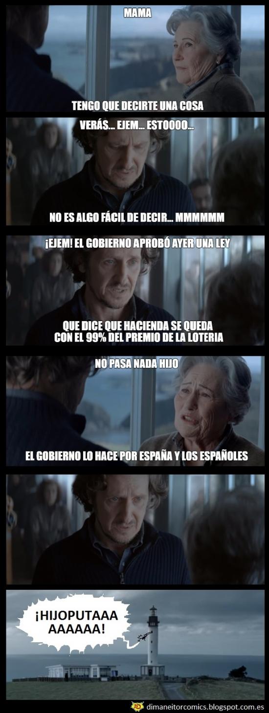Meme_otros - Continuación del anuncio de la Lotería