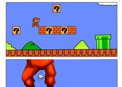 Enlace a Mario sufre mientras tú te diviertes