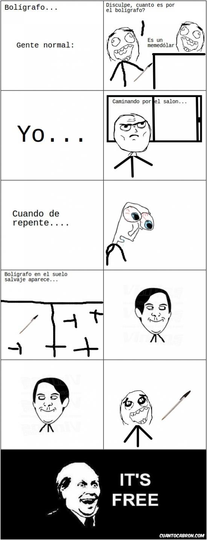 Its_free - El bolígrafo...