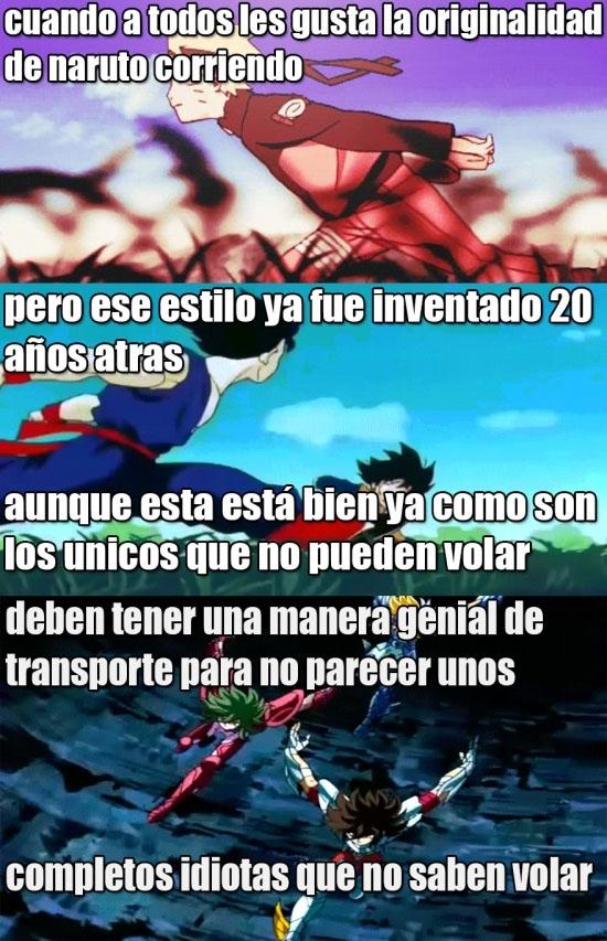 Son_goku - Goku y Los Caballeros del Zodiaco lo inventaron