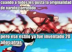 Enlace a Goku y Los Caballeros del Zodiaco lo inventaron