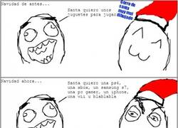 Enlace a Navidad, antes y después