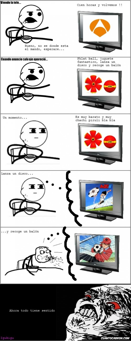 Cereal_guy - Lanza un disco y...