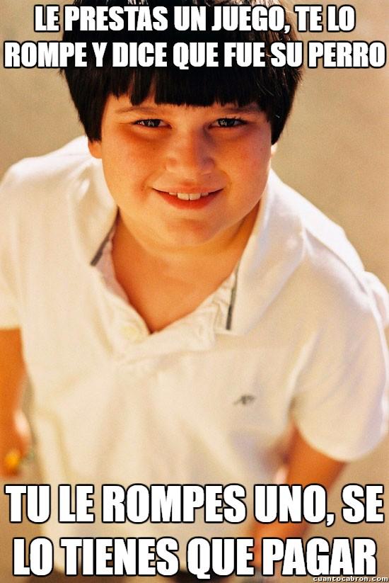 Nino_repelente - Maldito niño, siempre igual