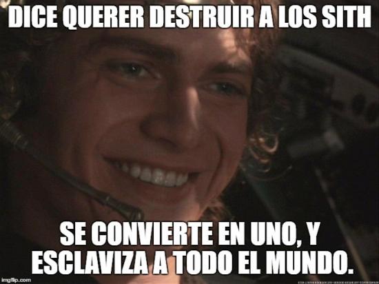 Meme_otros - Anakin no tiene sus ideas claras