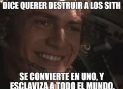Enlace a Anakin no tiene sus ideas claras