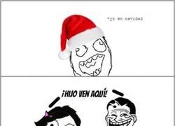 Enlace a Los padres troll en Navidad