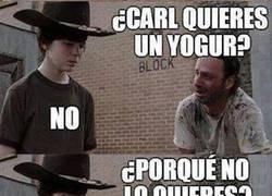 Enlace a Carl tiene hambre