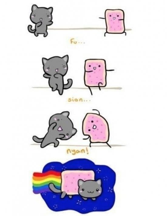 Otros - Y así salió el Nyan Cat