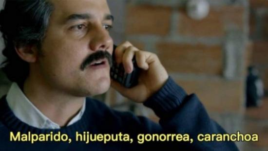 Meme_otros - Pablo Escobar se actualiza