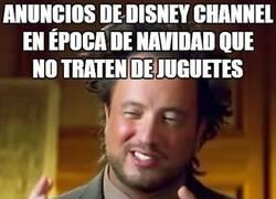 Enlace a Cada año lo mismo en Disney Channel