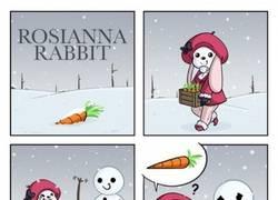 Enlace a La fábula de la coneja viciosilla y el muñeco de nieve