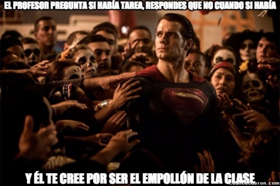 Superman_heroe - No todos los héroes llevan capa