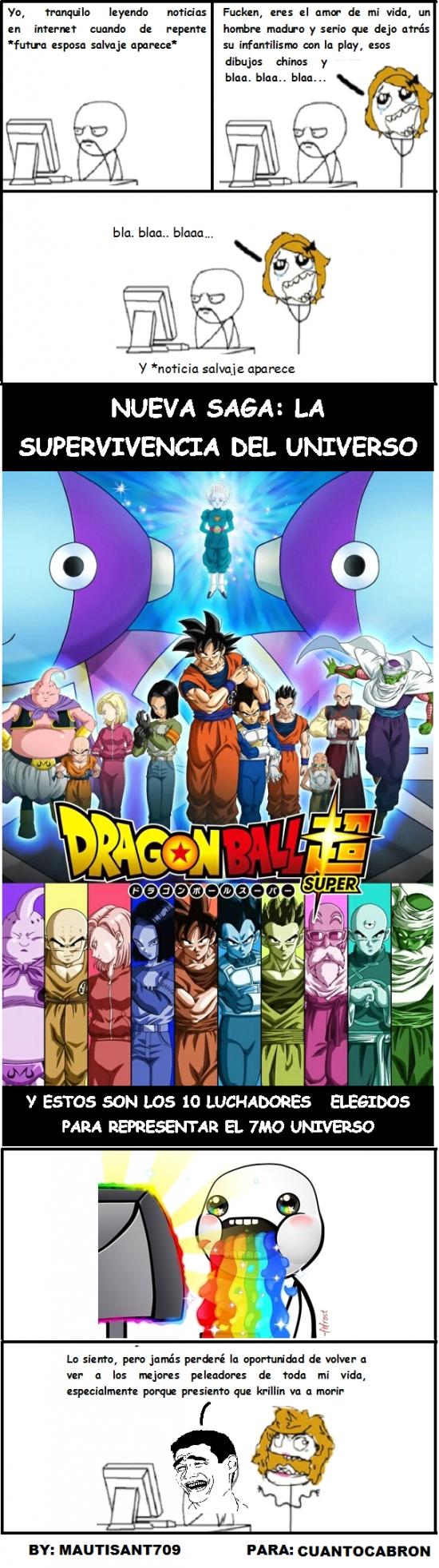 Yao - Nueva Saga de Dragon Ball Super. Adiós madurez...