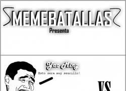 Enlace a Yao Ming vs Friki. ¿Quién ganará esta Memebatalla?