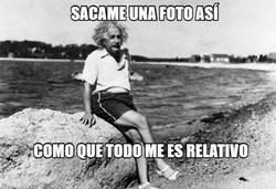 Enlace a Einstein y sus fotos