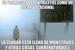 Enlace a Silent Hill ese tranquilo lugar vacacional