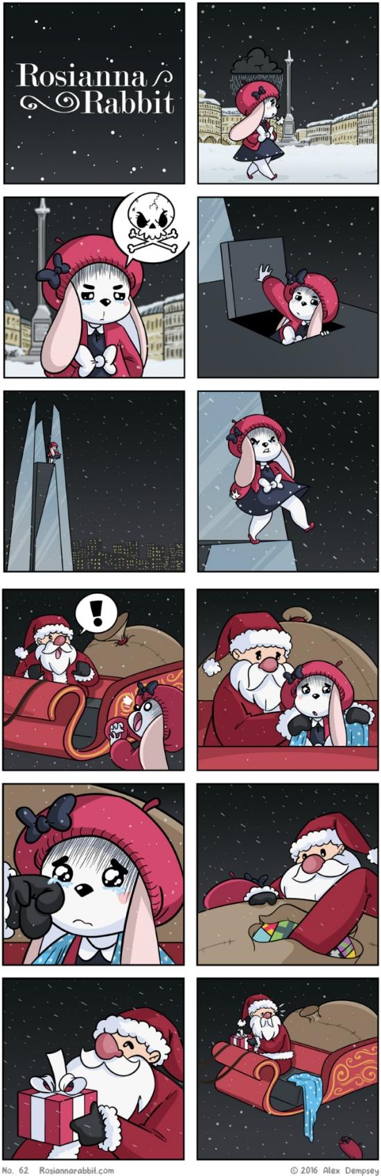 Otros - Por eso no es aconsejable ir en el trineo de Santa Claus
