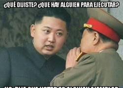 Enlace a Kim Jong-Un y su necesidad de ejecutar personas