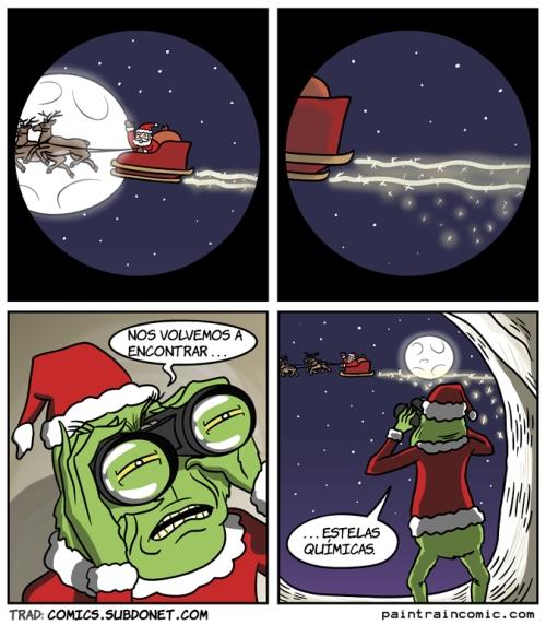 Otros - Al Grinch le trae recuerdos el trineo de Santa Claus