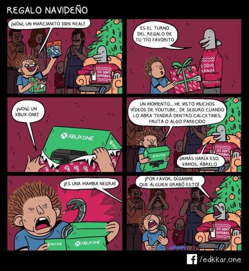 Otros - Nunca hay que fiarse de ciertos regalos