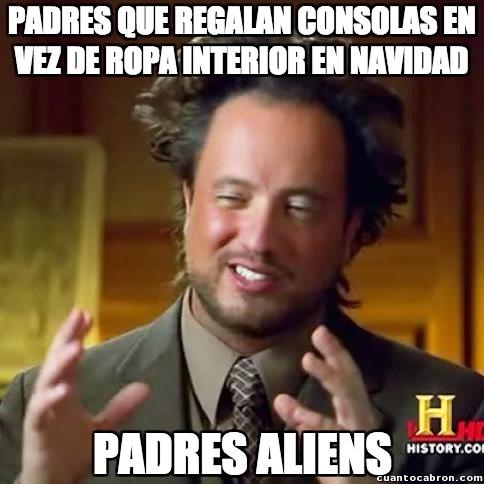 Ancient_aliens - ¿Dónde están mis padres reales?
