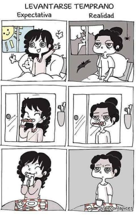 Otros - Lo peor de levantarse temprano